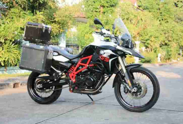 [ For Sale ] F800gs 2015 with 3 boxes ready for ride - Image 1